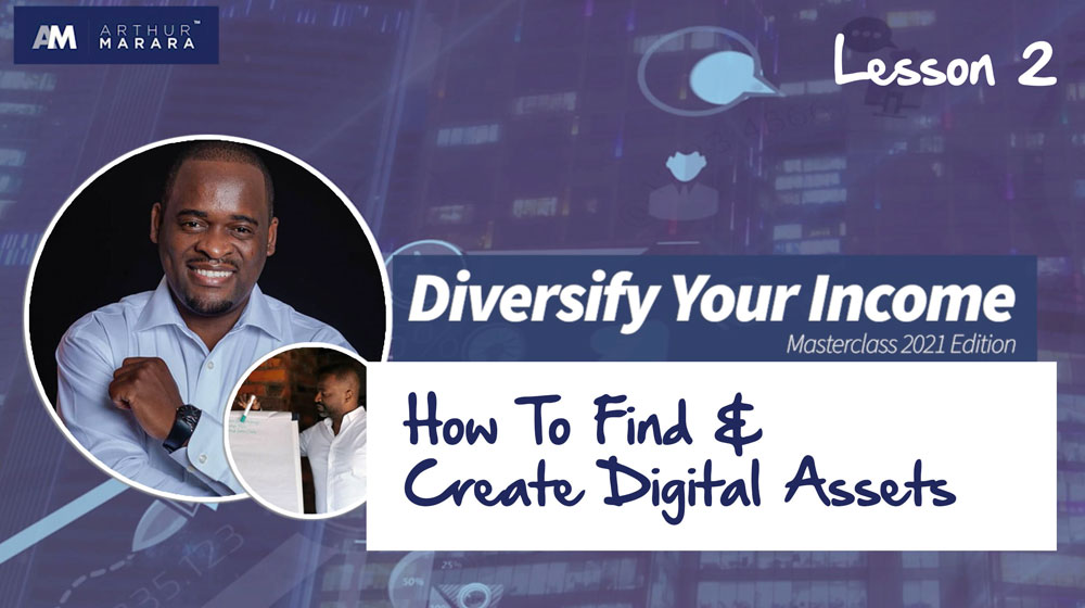 Lesson 2 - How to find & create Digital Assets
