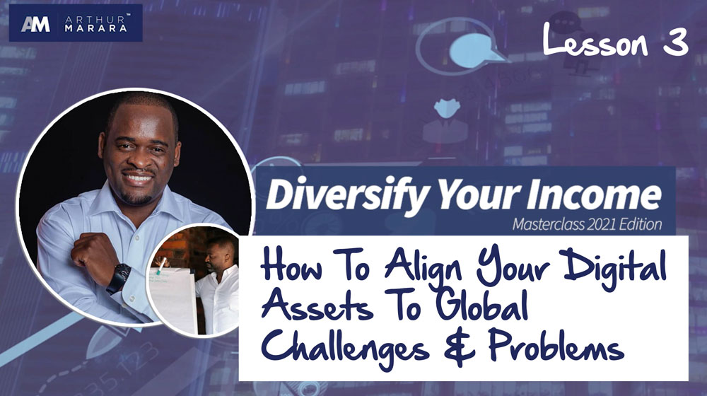 Lesson 3 - How to align Digital assets to global problems