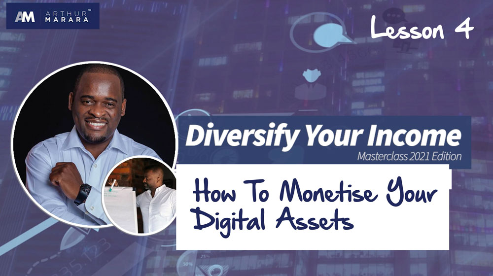 Lesson 4 - How to Monetise Your Digital Asset